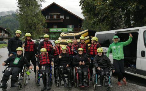 Rafting na Salzachu – zážitkově-vzdělávací program